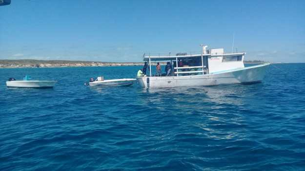 RBDF apprehends eight fishermen in protected area