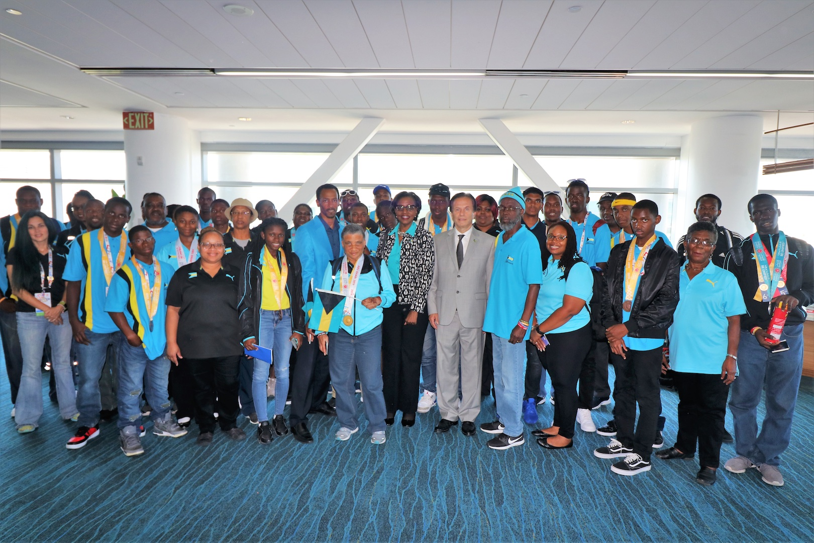 Team Bahamas Returns from Special Olympics in Abu Dhabi