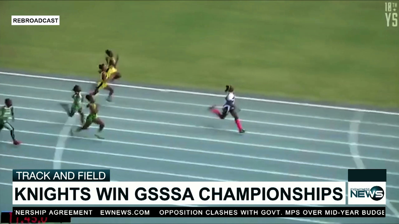 Knights win 2019 GSSSA Track and Field Championships