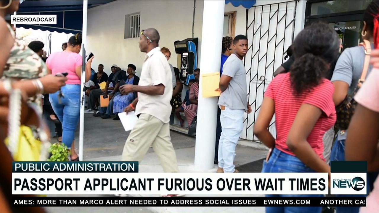 Chaos erupts at passport office – EyeWitness News