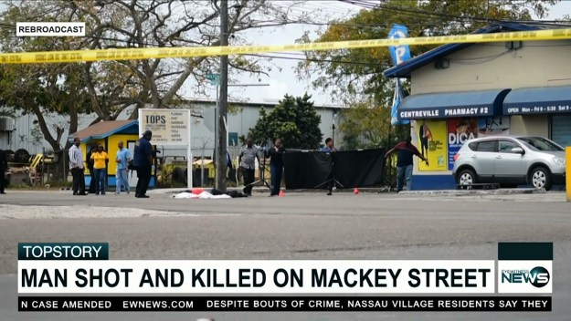 Man murdered on Mackey Street while buying a drink