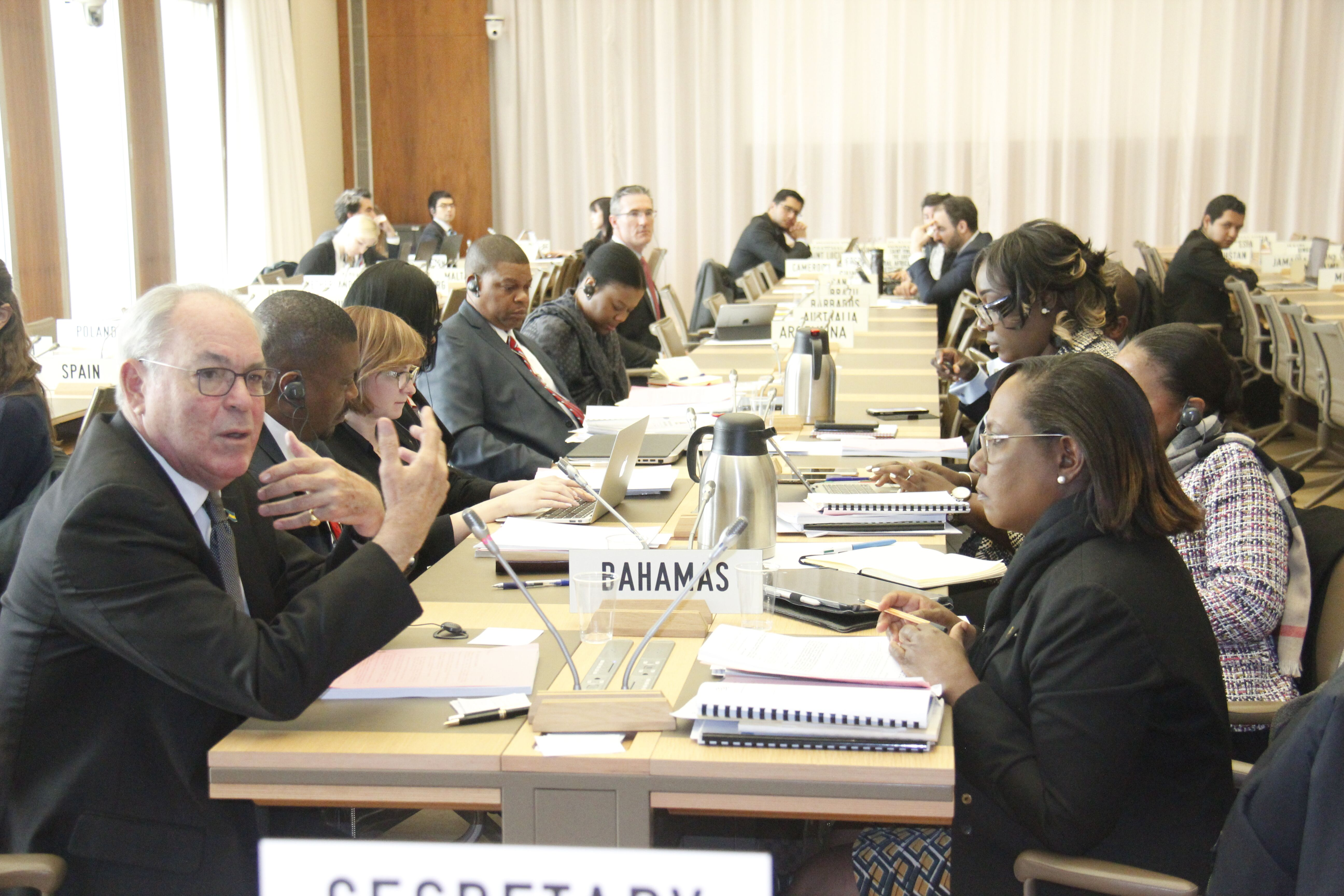 Symonette: WTO accession negotiations must consider vulnerabilities of the Bahamian economy