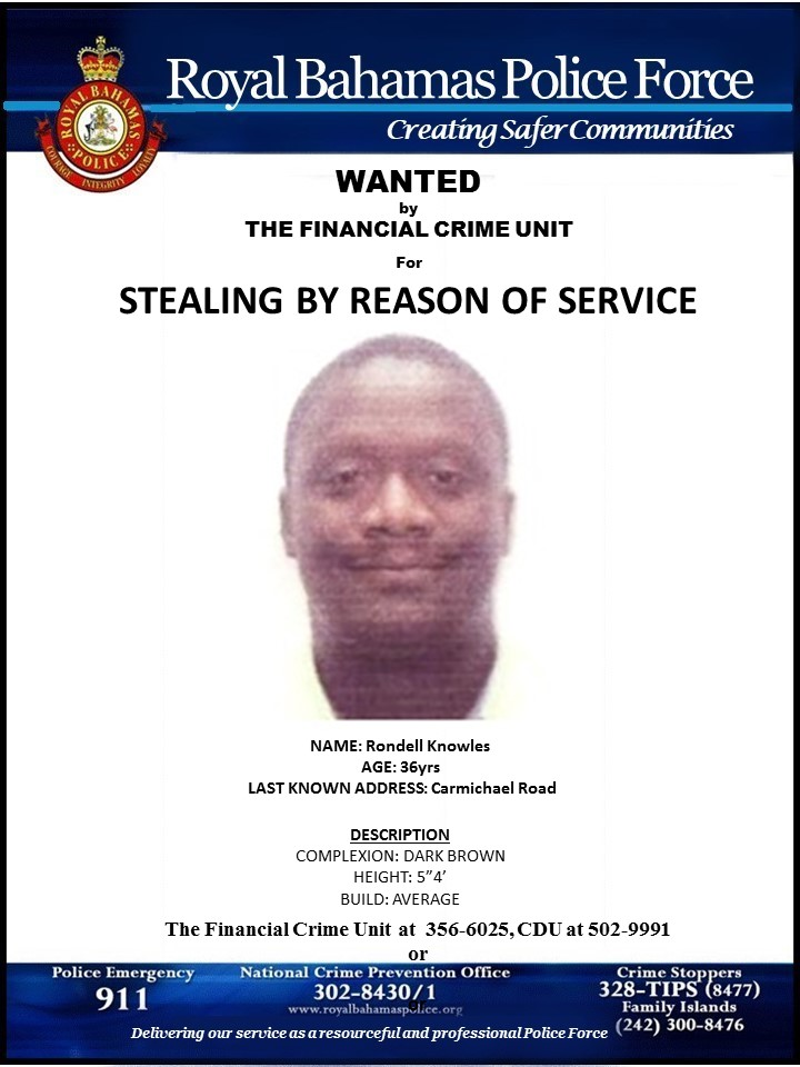 Man wanted for fraud