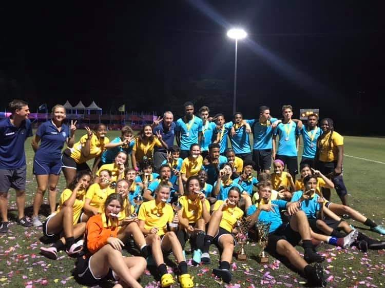 Lyford Cay Dragons wins boys and girls national soccer titles