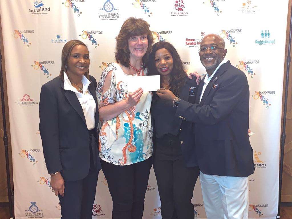 The Bahamas Tourist Office and Delta Vacations join forces to promote The Islands Of The Bahamas in Raleigh, North Carolina