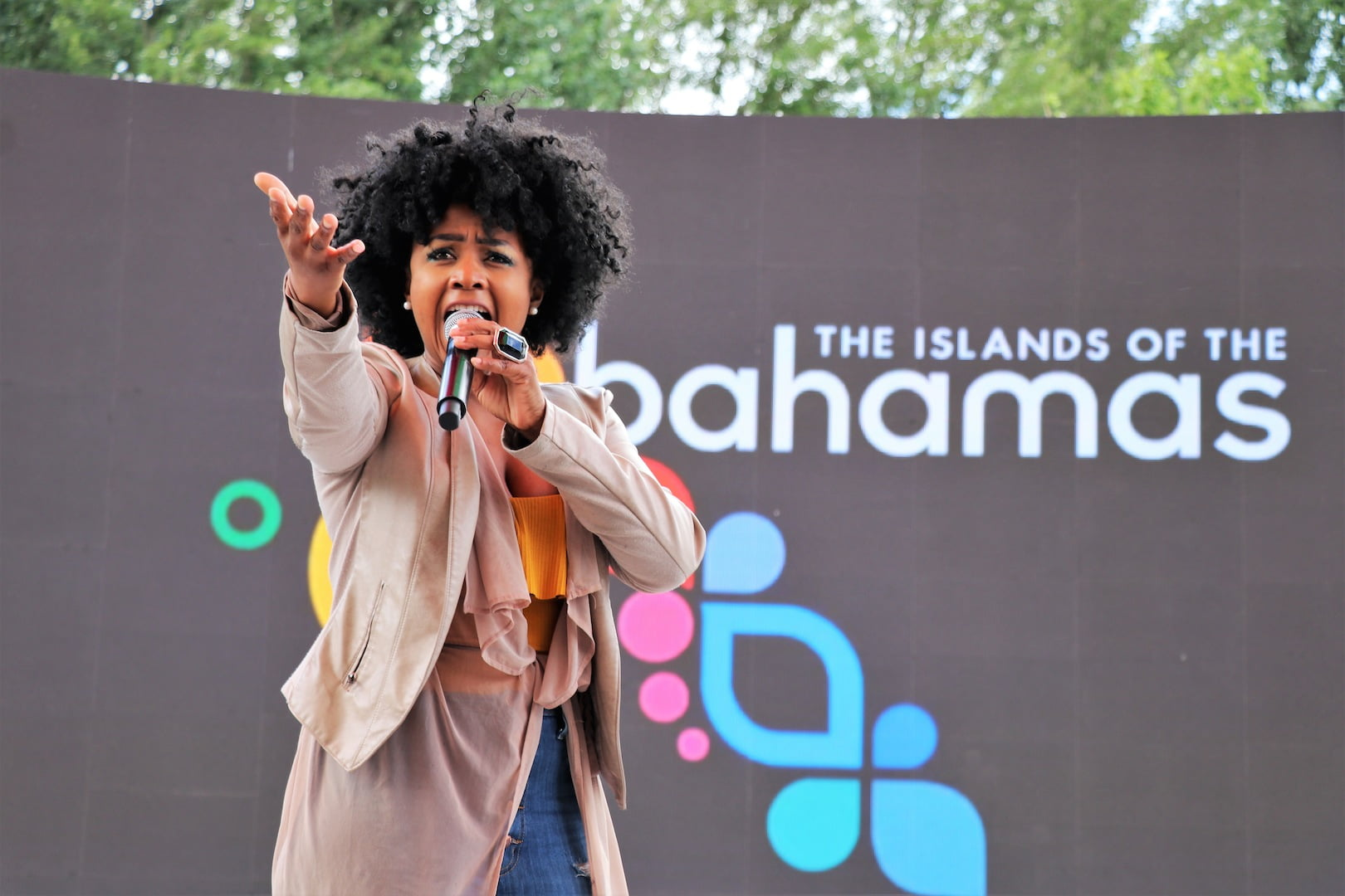 Bahamian Vocalists Shine at Beijing Expo