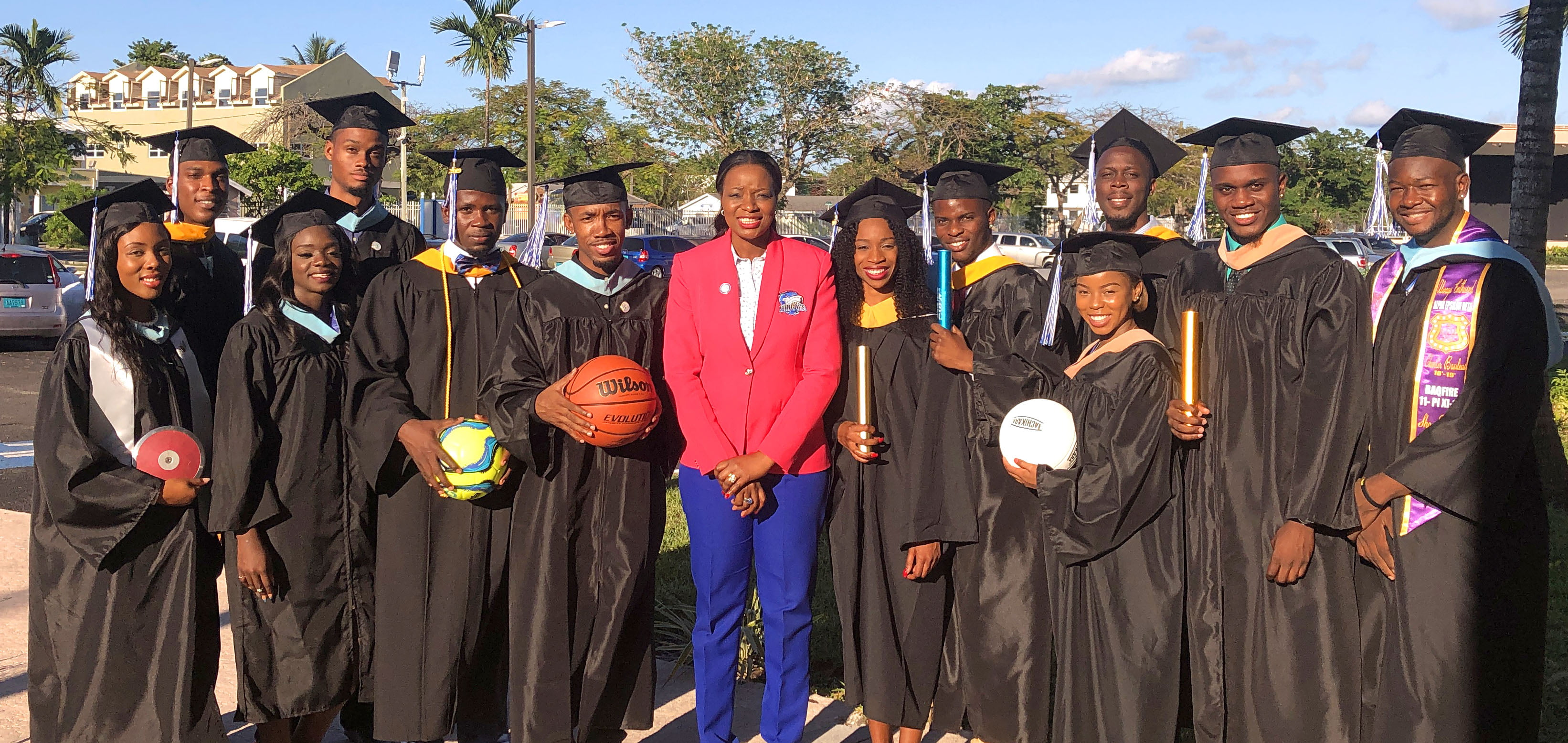 Largest class of student athletes graduate from UB