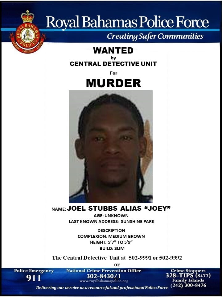 Man wanted for murder