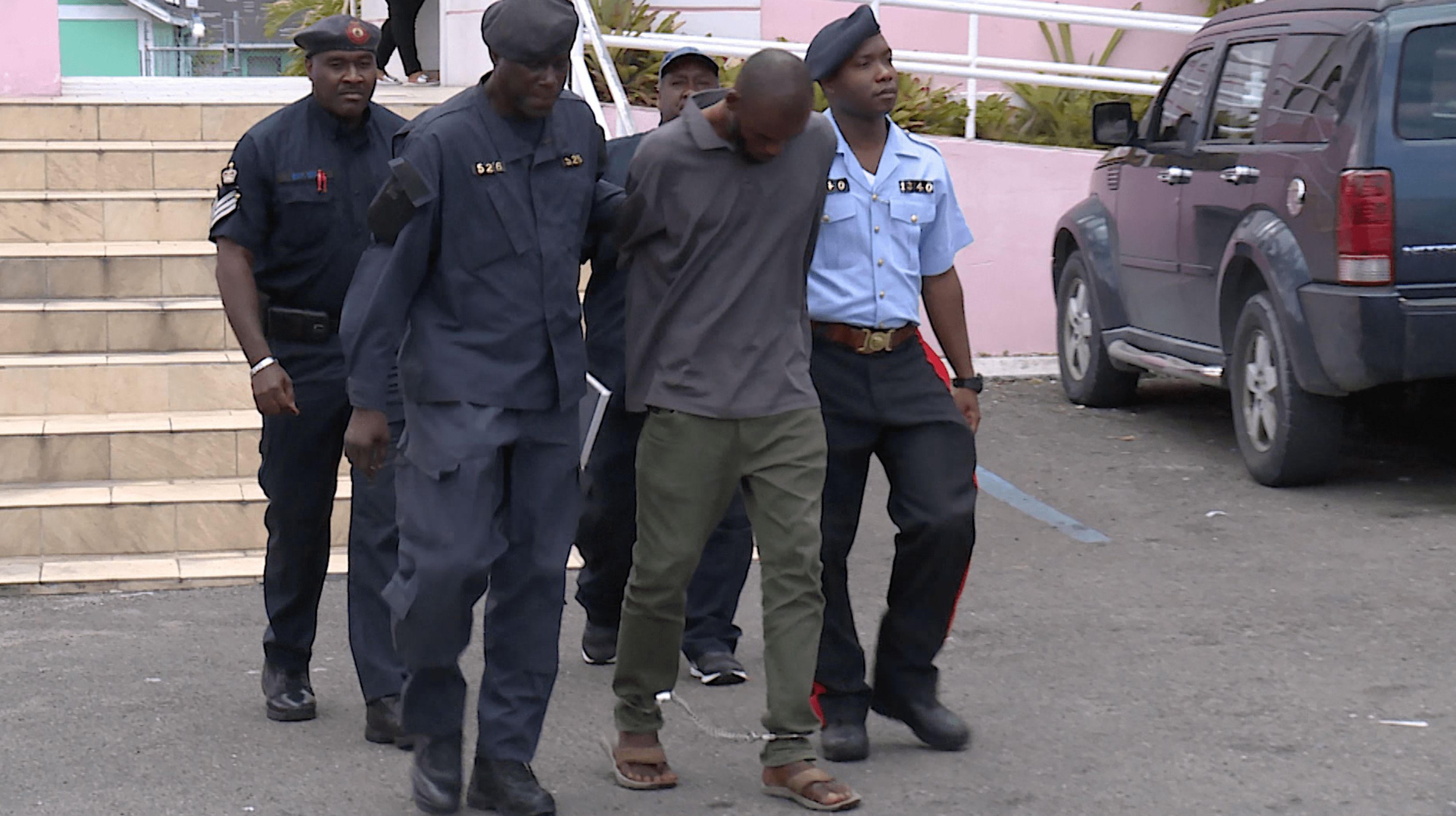 Man arraigned on several charges of theft and housebreaking