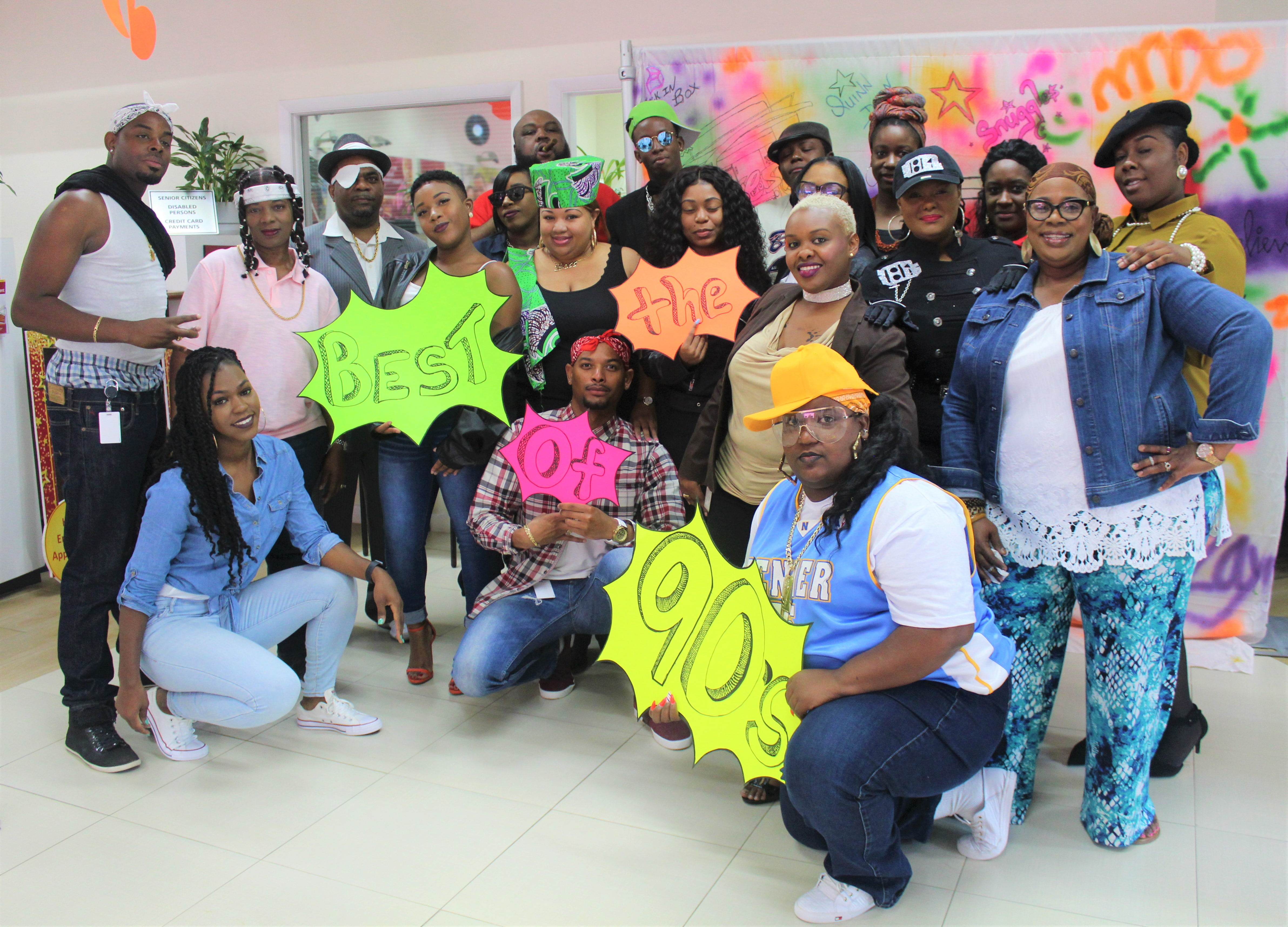 CIBC First Caribbean celebrates Employee Appreciation Day with blast from the past