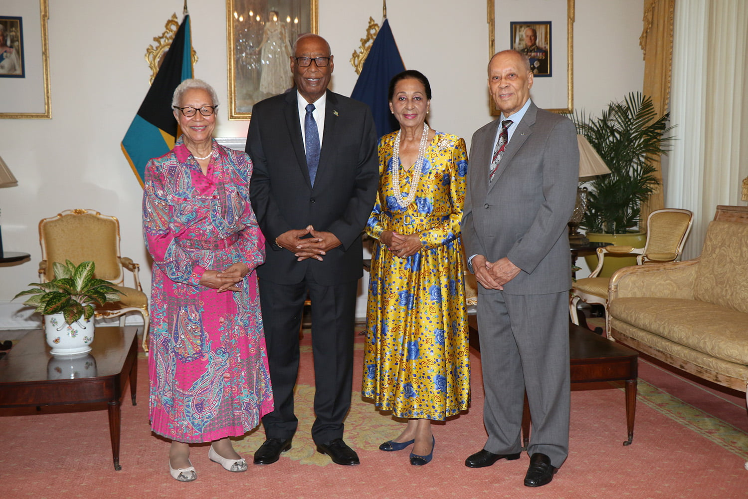 Governor General hosts luncheon in honour of former governors general