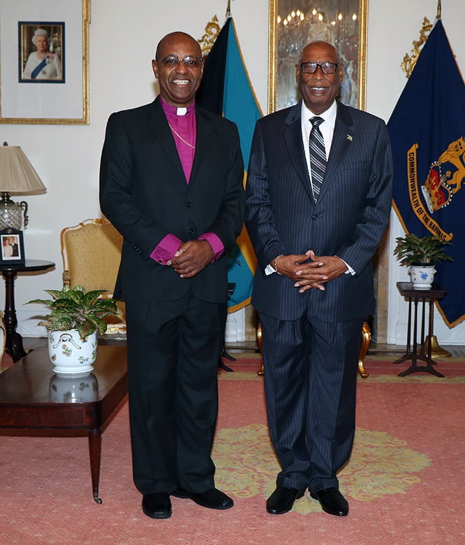 Bishop Boyd pays courtesy call on Governor General