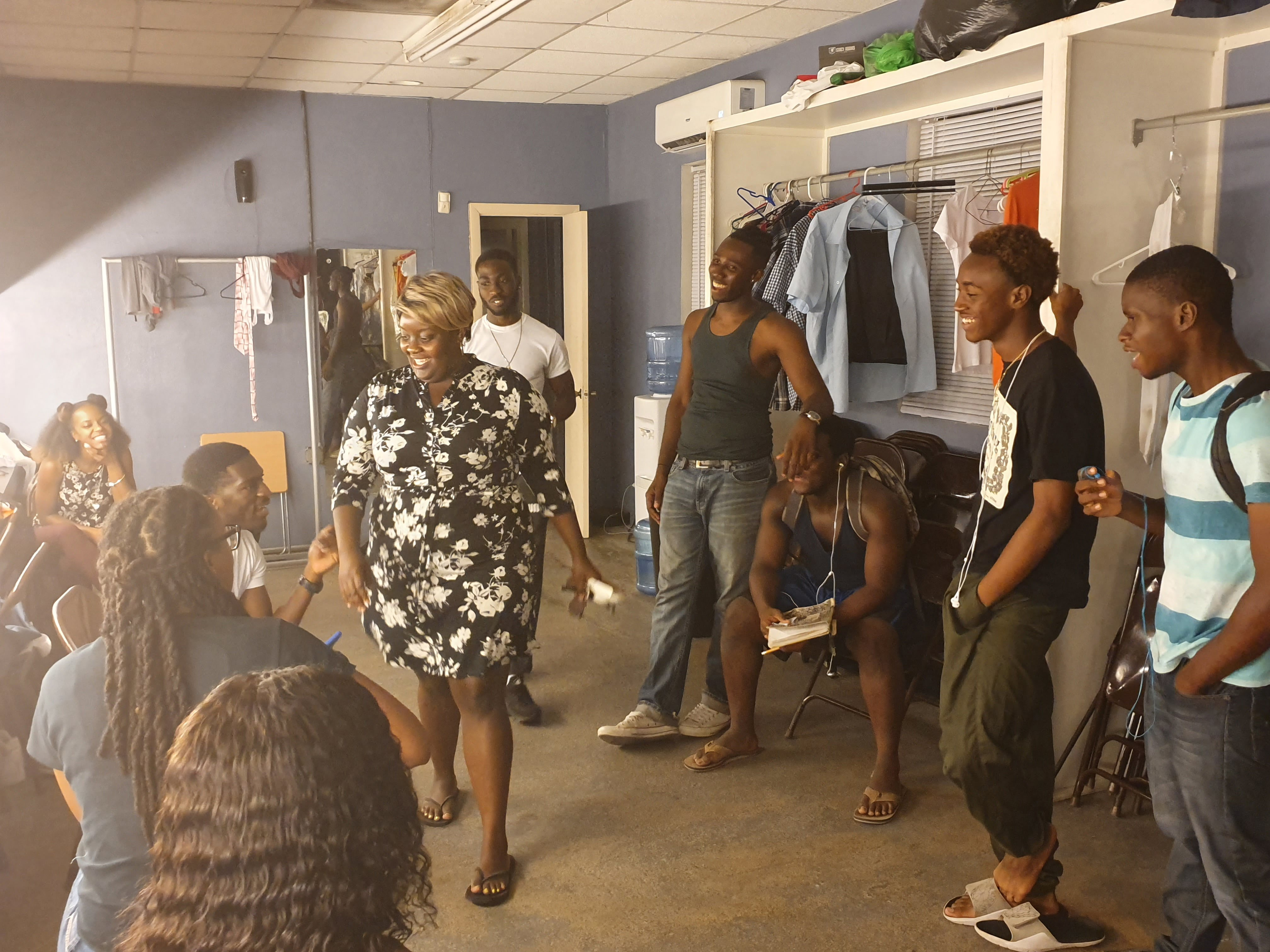 """""""Struggles and Dreams"""" stage play highlights societal issues, encourages youth"""