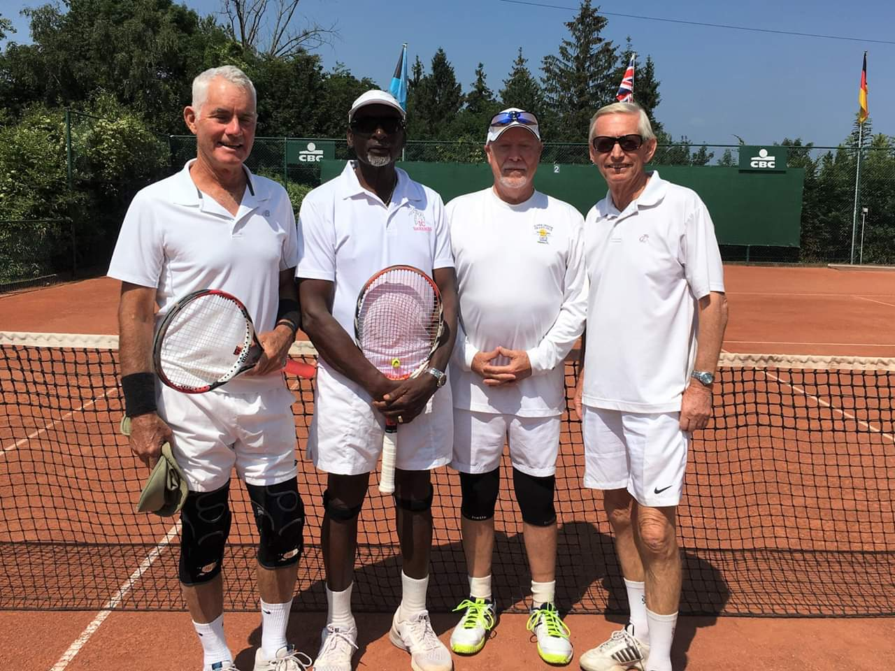 Kit Spencer leads IC Caribbean Team in Belgium Tennis Tournament