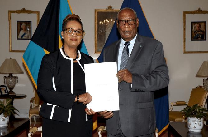 Vera Watkins sworn in as Acting CJ