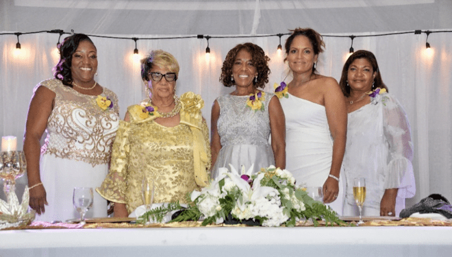 Mrs. Patricia Minnis honoured with SPARKS award in St. Thomas