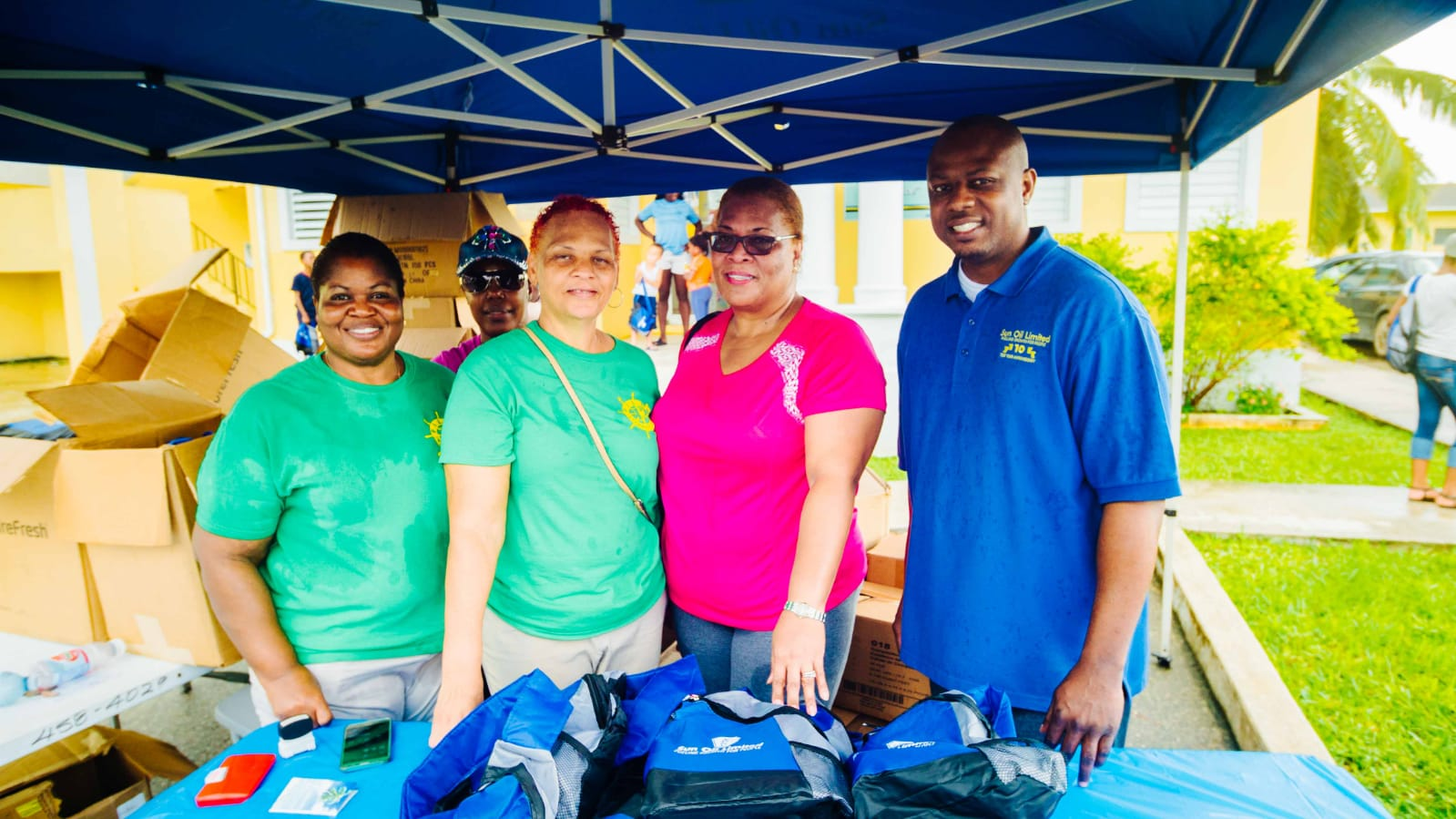 Sun Oil Limited Hosts Annual Abaco Back-To-School Extravaganza