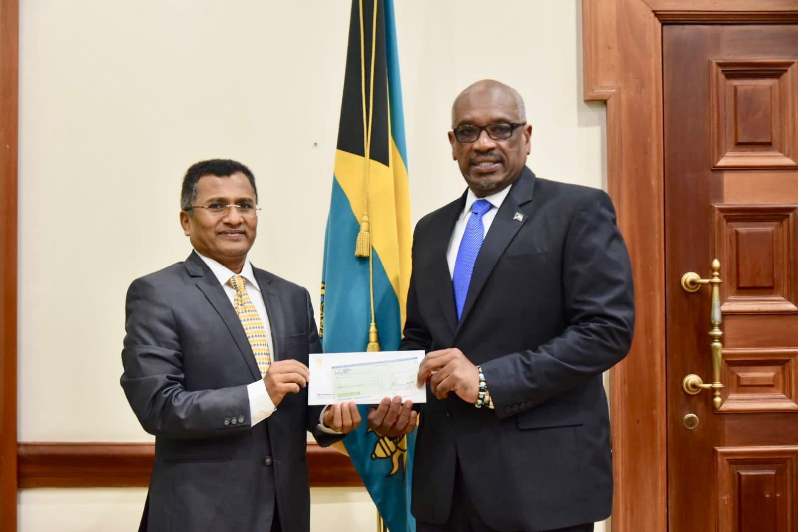 India gives $1 million to Hurricane Dorian Relief Effort
