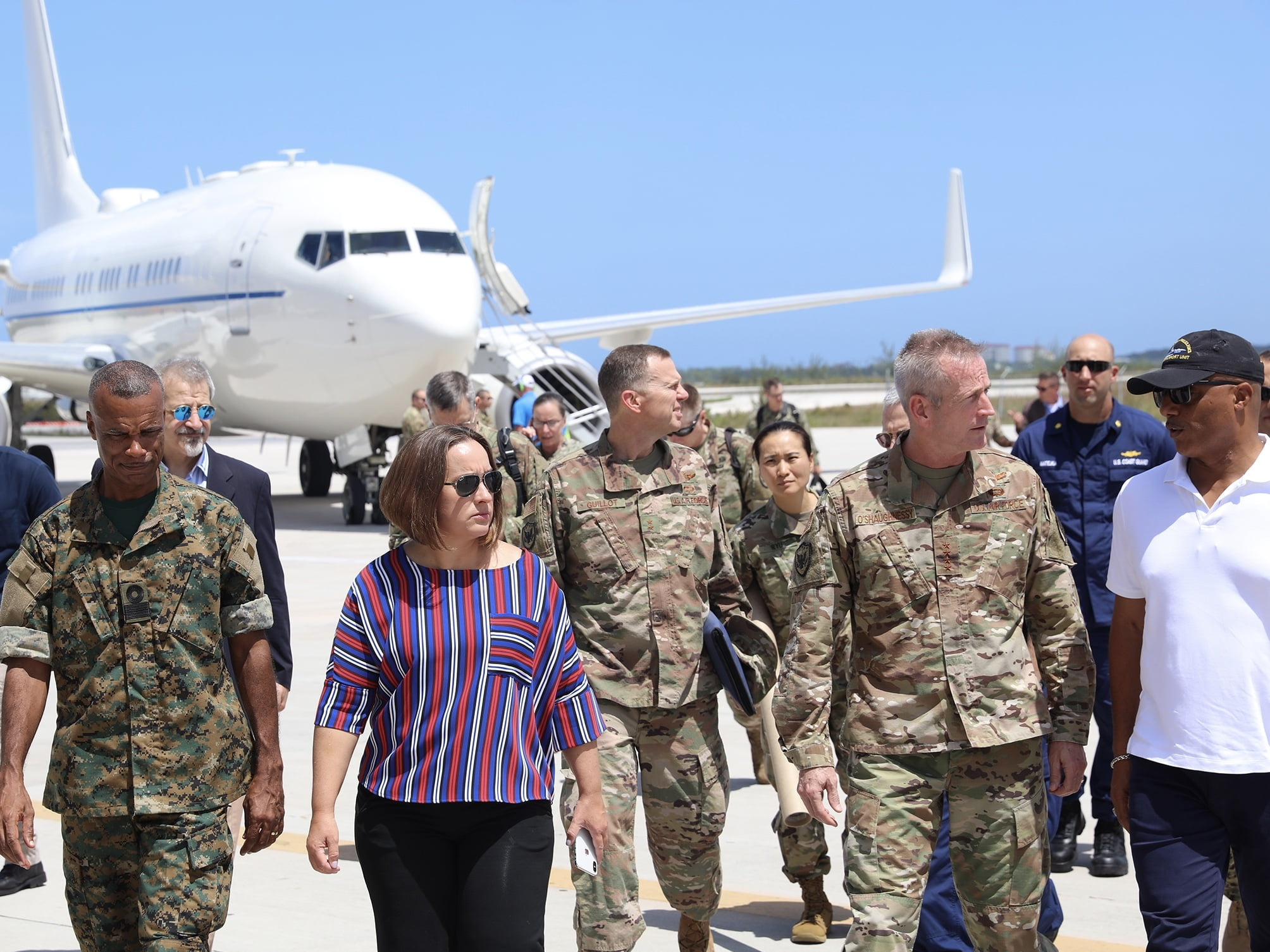 United States Steps up Relief Efforts in The Bahamas; U.S. Military Providing Airlift and Logistics Support