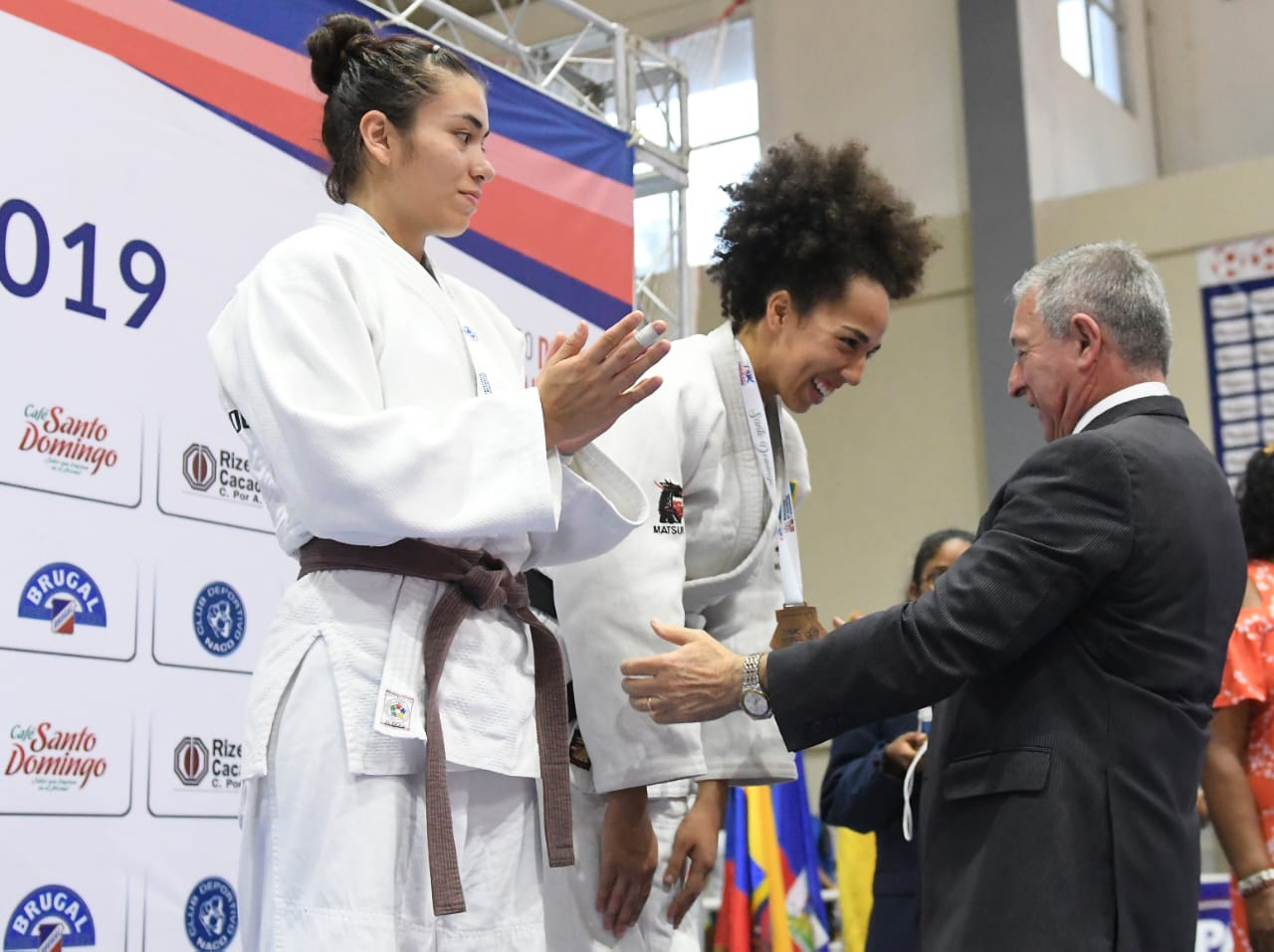 Rahming wins continental medal in judo