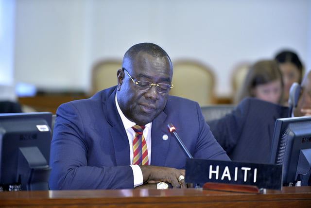 Haitian Foreign Minister appeals for moratorium on repatriations
