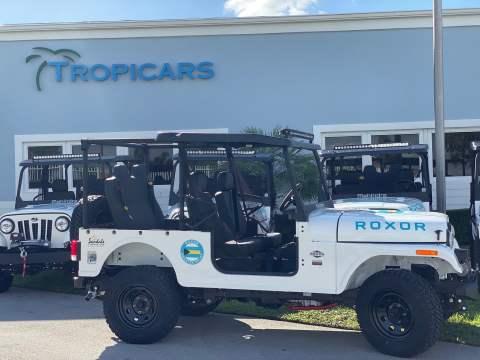 Heavy-duty vehicles donated to help Hurricane Dorian rebuild