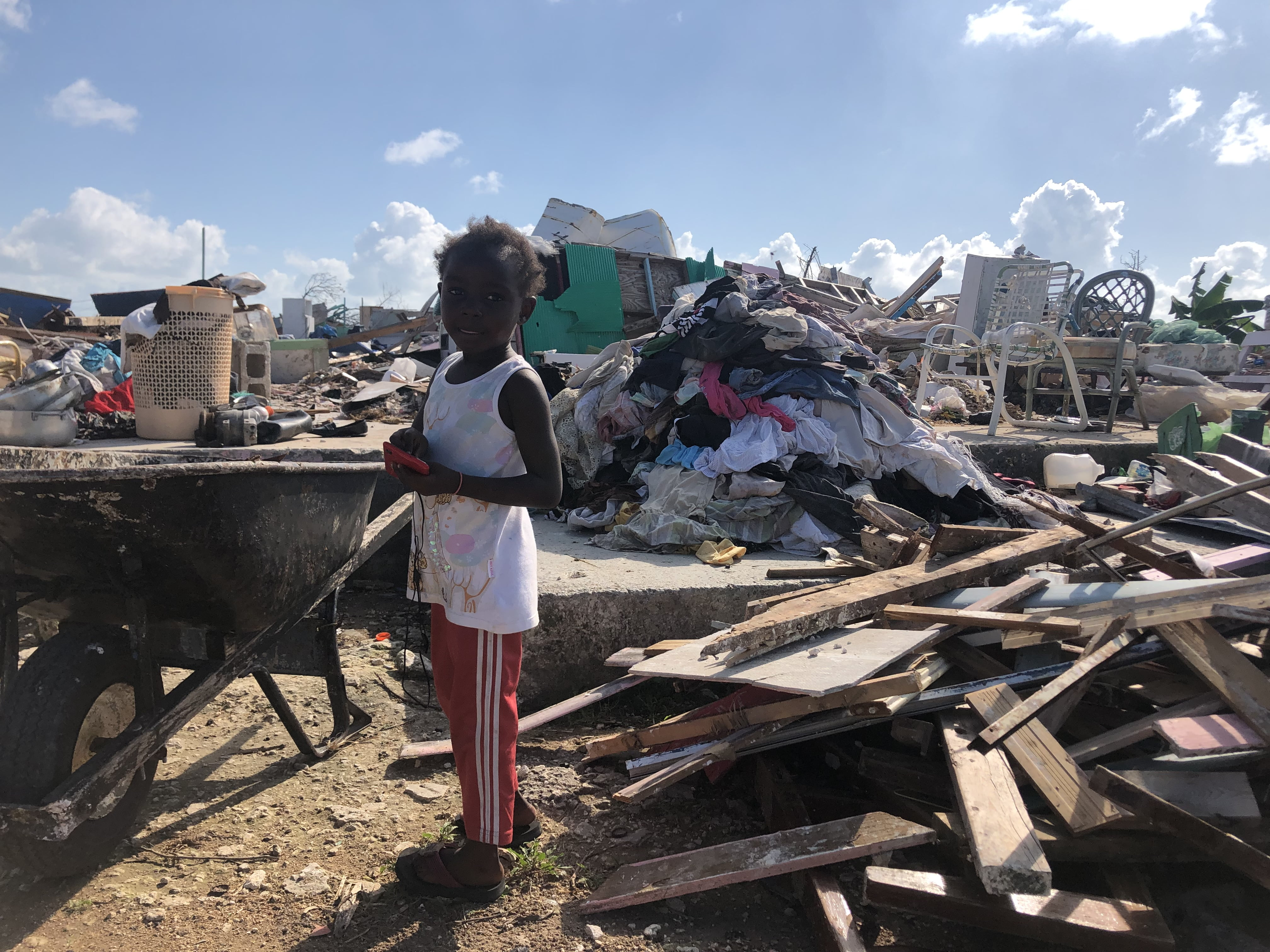 At least 50 new structures in Abaco shantytown