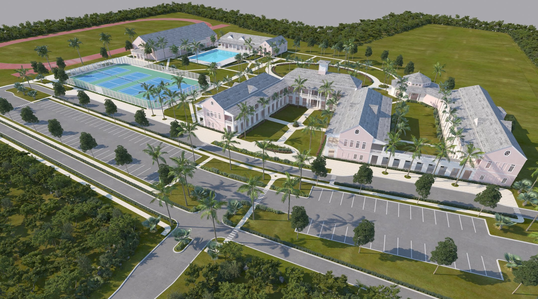 Lyford Cay International School celebrates Topping Off of new secondary campus