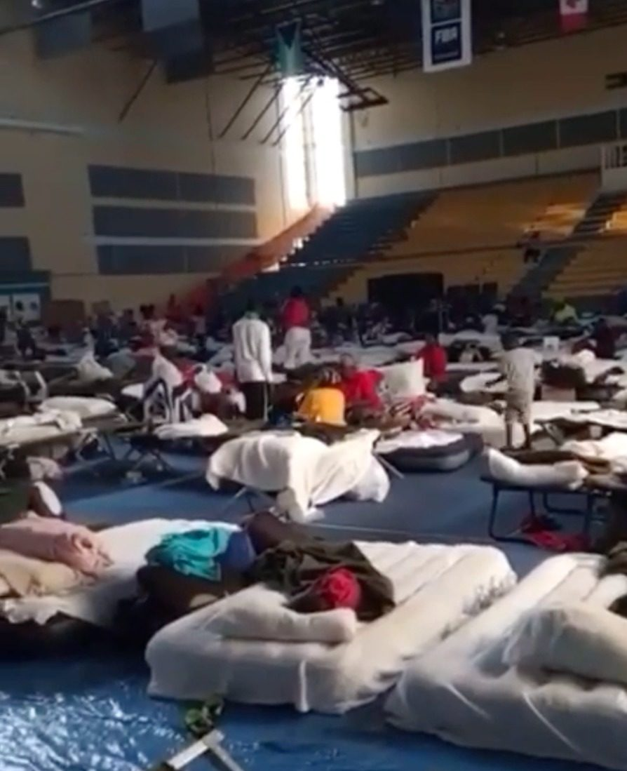 Approx. 150 remain in NP shelters