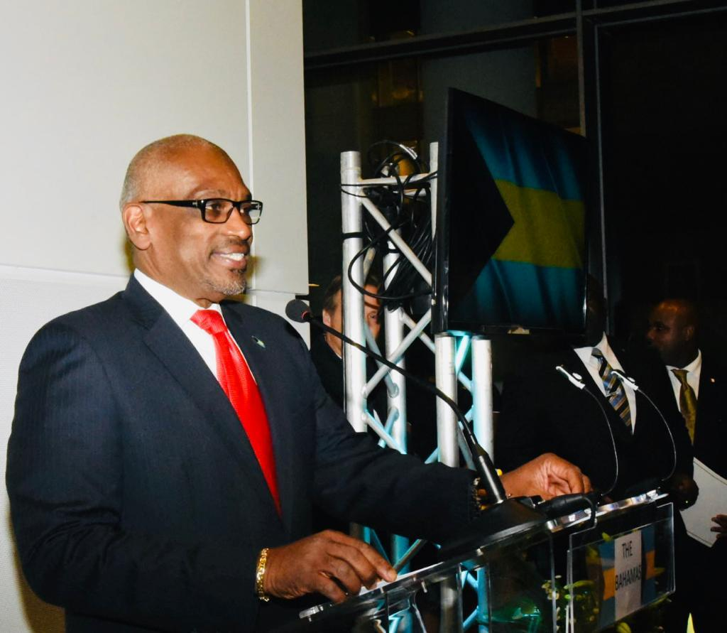 PM officially opens Bahamas embassy and mission to EU in Belgium