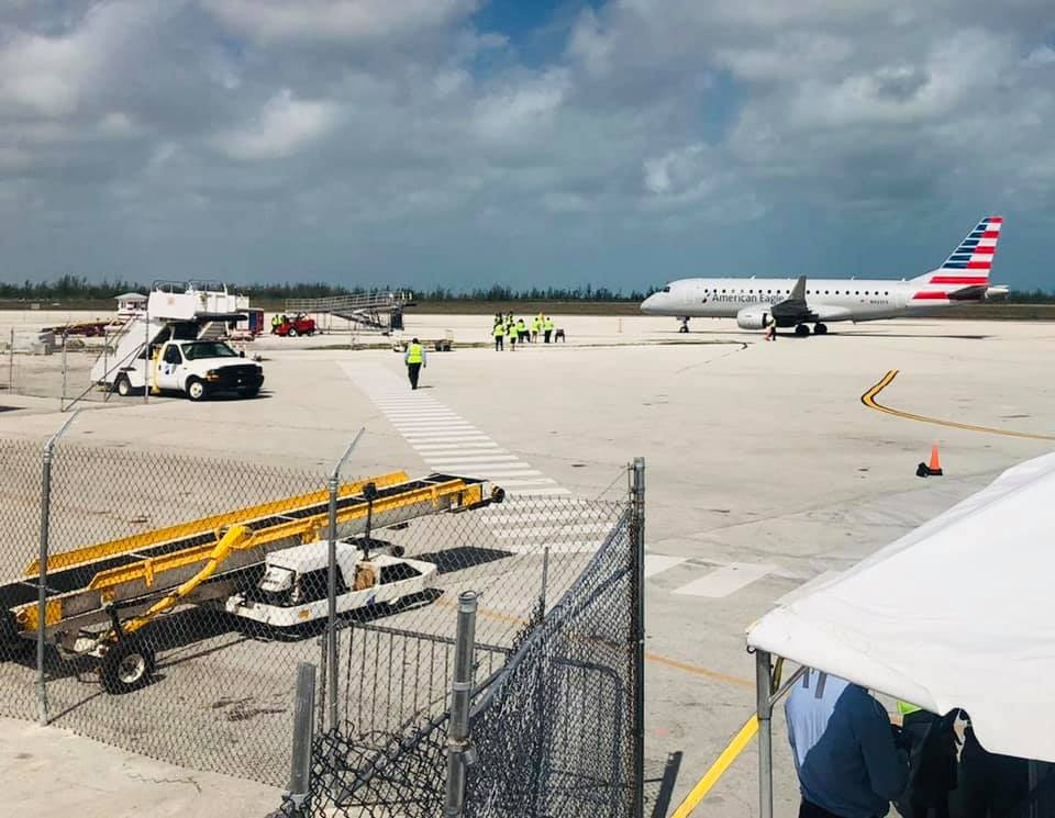 American Airlines resumes flights to GB