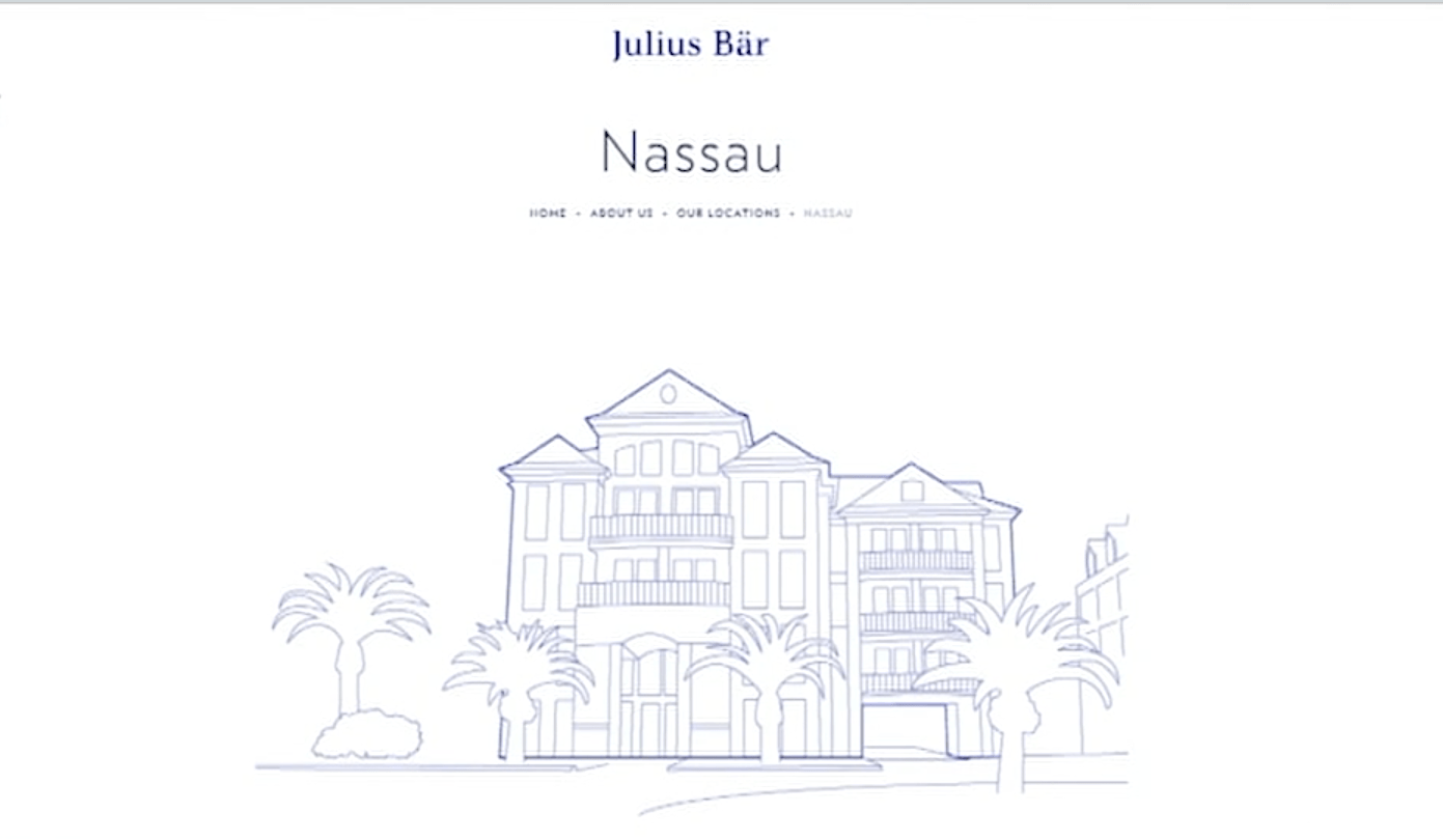 Swiss private banking giant Julius Baer shutters Nassau office