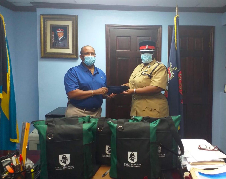 Family Guardian donates 600 face masks to RBPF