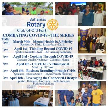 Old Fort Rotary Club hosts virtual COVID-19 series