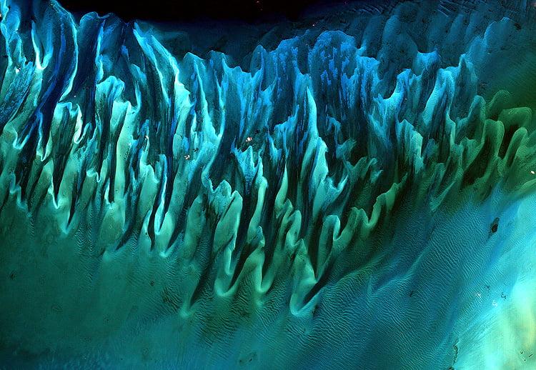 Satellite image of The Bahamas wins NASA's Tournament Earth