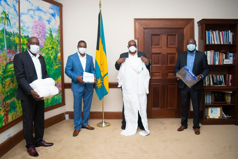 PM receives PPE donation
