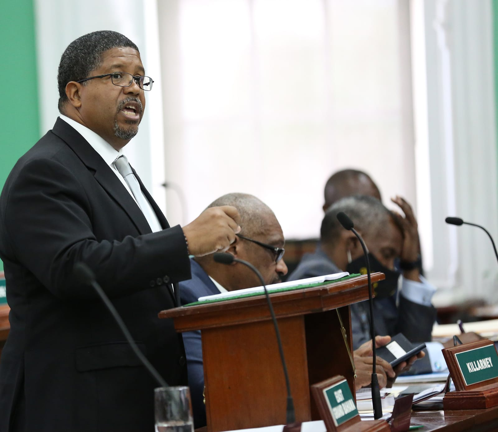 Govt. debt increased $977 million this term