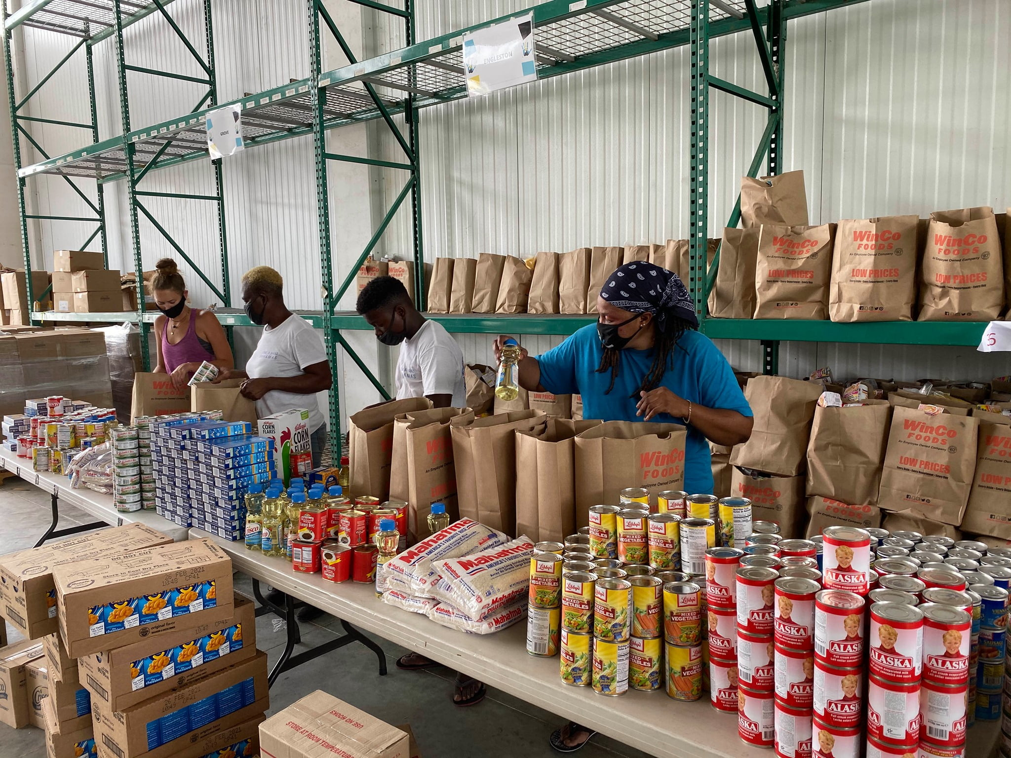 Lyford Cay Foundations grants $1.5 mil. to food aid