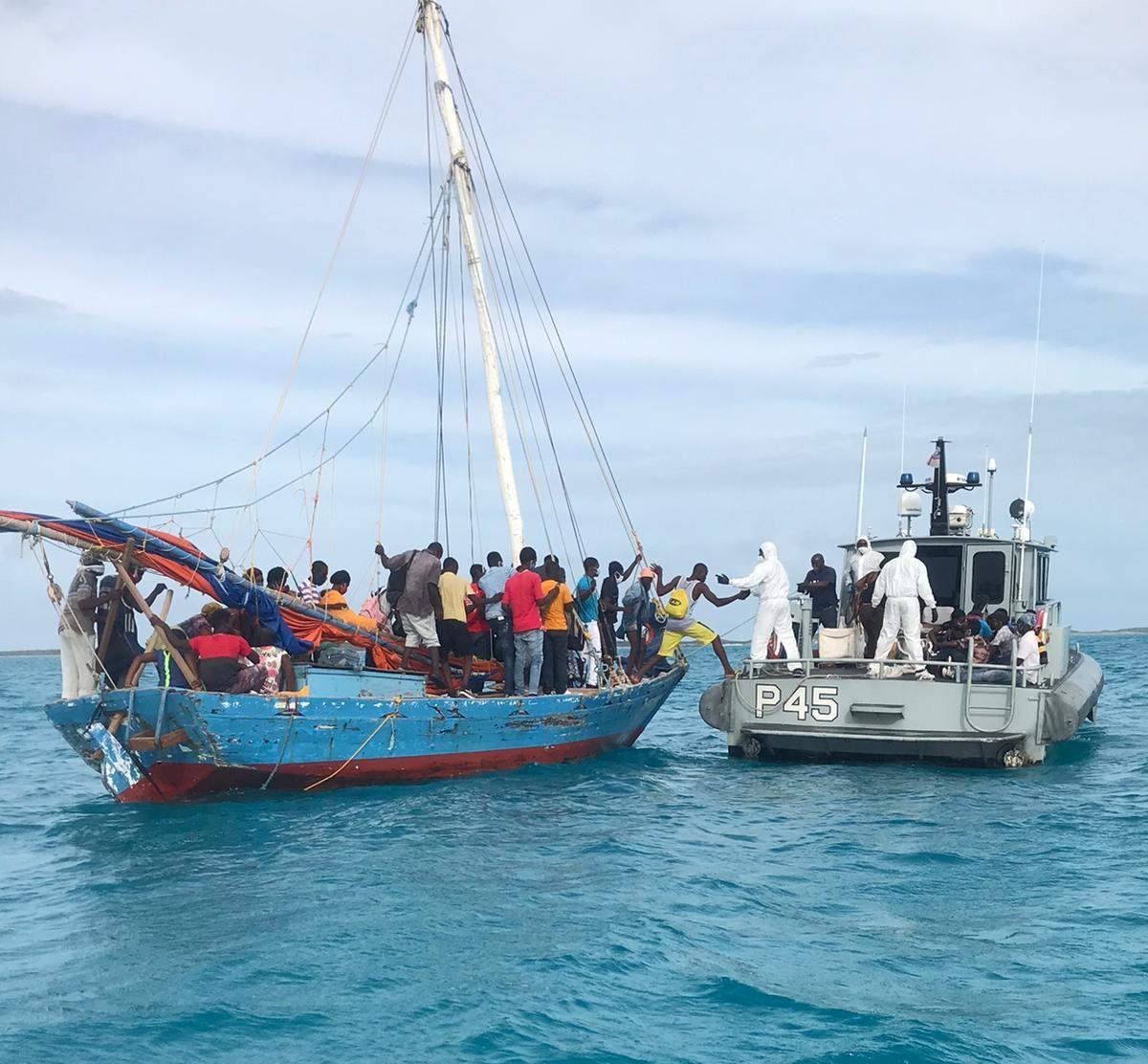 44 Haitian migrants apprehended in the Exuma Cays