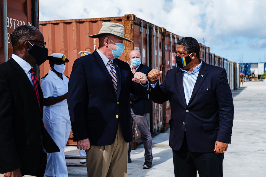 United States donates $3.6 mil. in modular shelters, rescue boats, and construction materials for Hurricane response