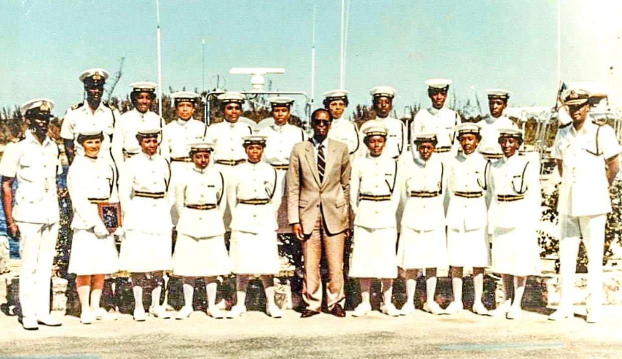RBDF salutes first entry of women into naval military