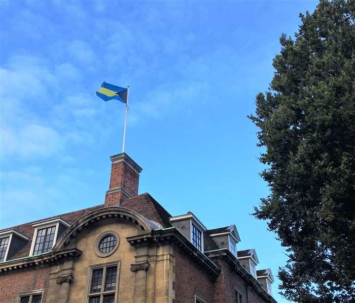 Cambridge University flies Bahamian flag in honour of AF Adderley