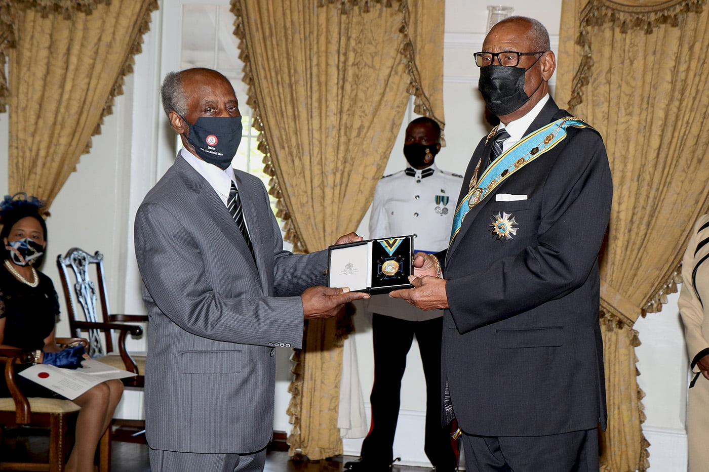 Ten Bahamians awarded National Honours