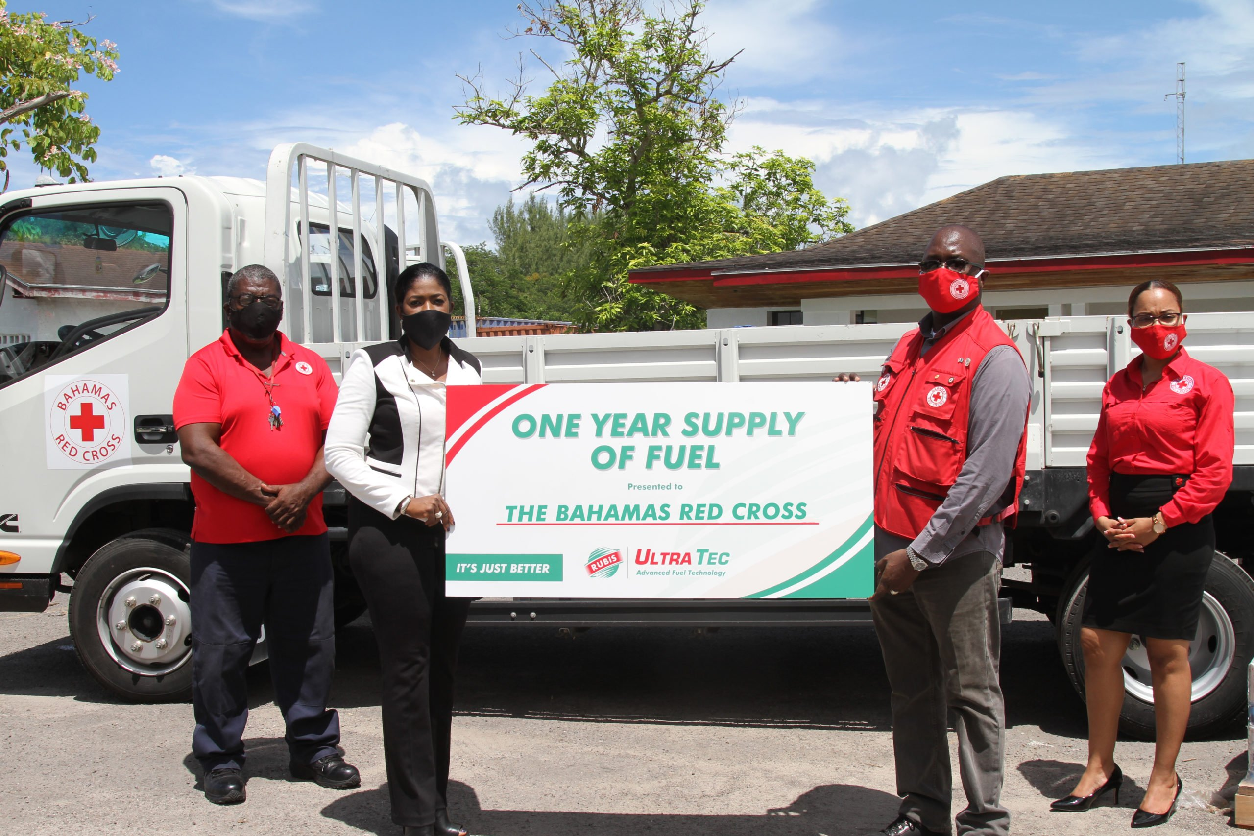 RUBiS Fuels The Bahamas Red Cross