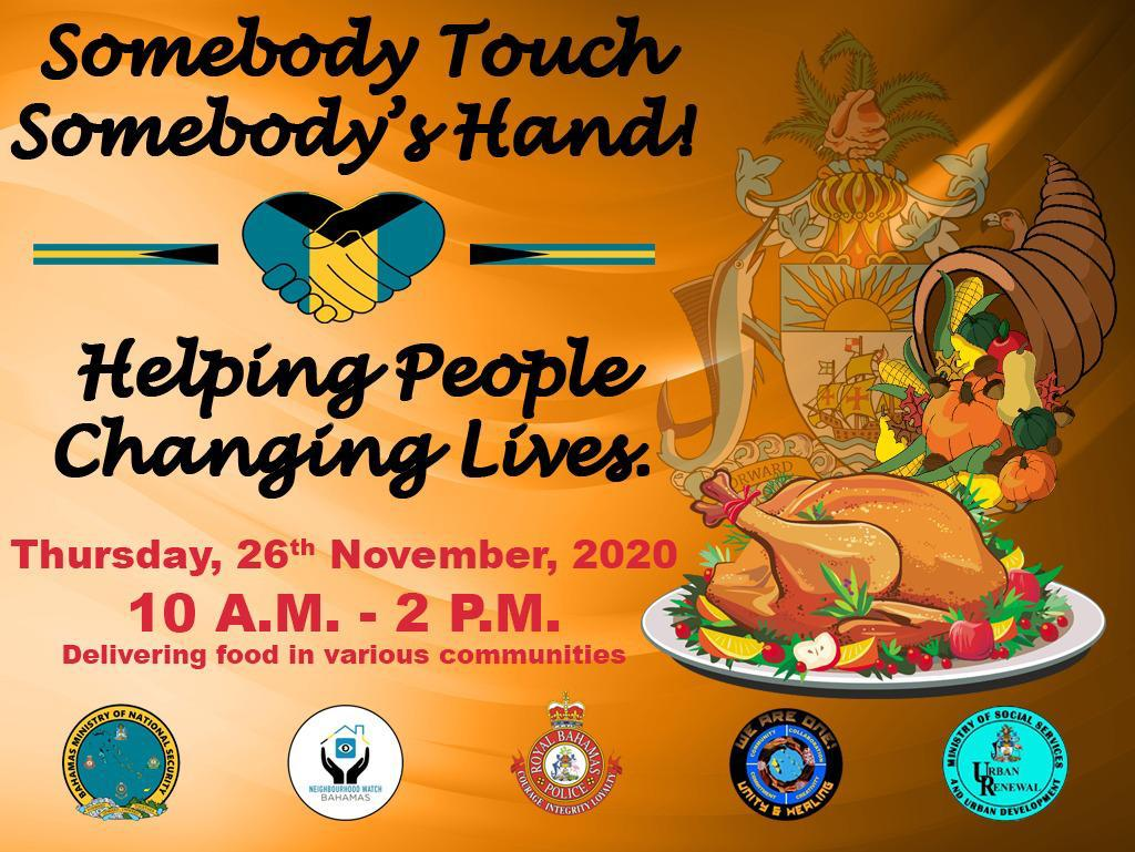Natl. Security Min to deliver Thanksgiving meals across New Providence