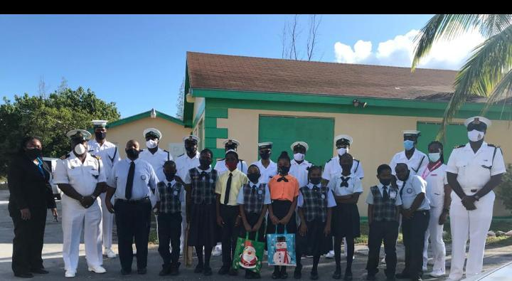 RBDF pays visit to Cat Island students