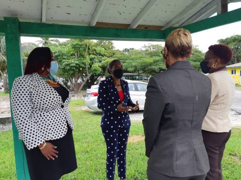 PM's wife visits Willie Mae Pratt Centre for Girls