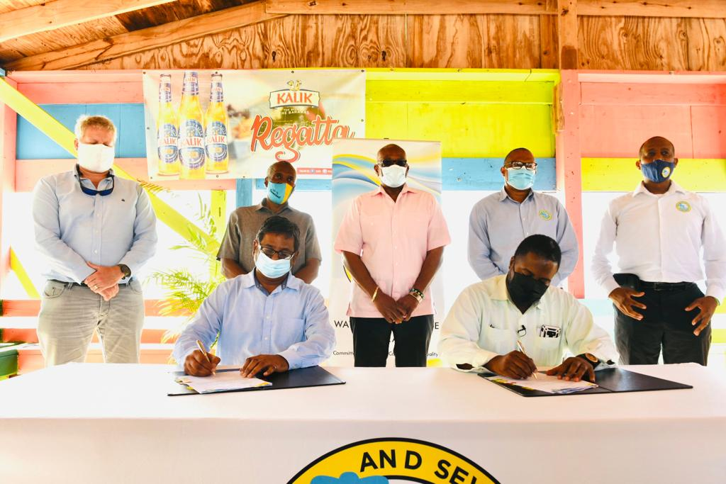 WSC signs contract for piped potable water on Cat Island