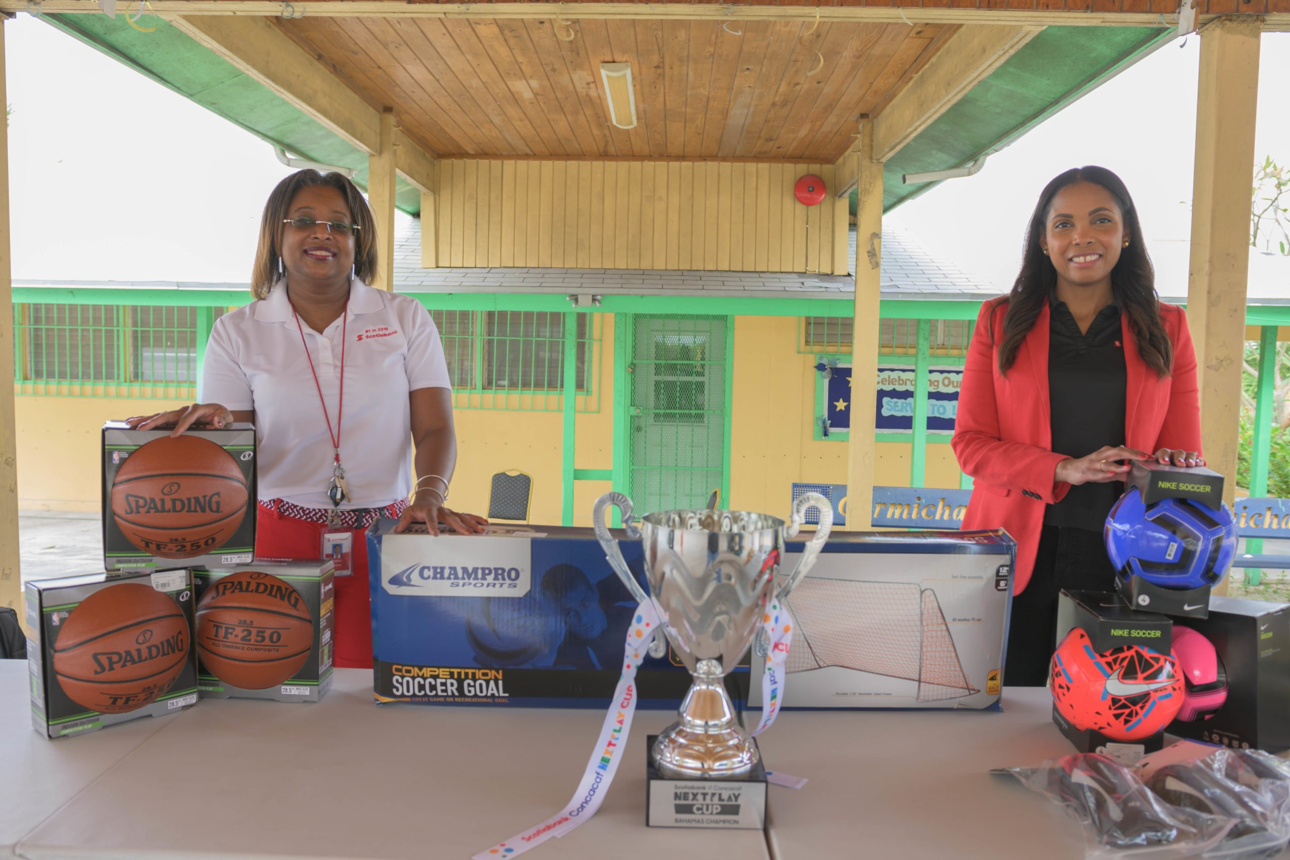 Scotiabank Next Play soccer champions receive prize gear