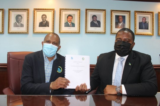 WSC signs MOU with IsraAID for Abaco groundwater management projects